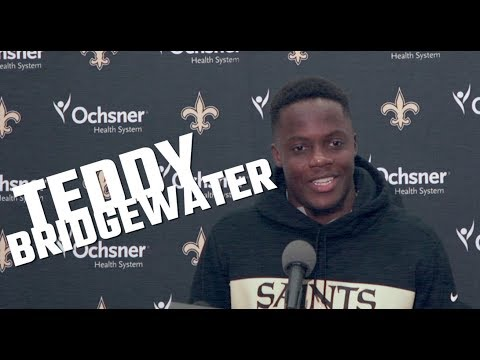 Teddy Bridgewater says he's been studying Saints offense since college and more