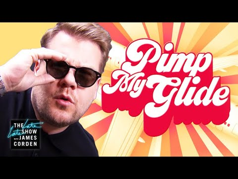 Pimp My Glide: James Corden's Airplane Makeover #LateLateLondon