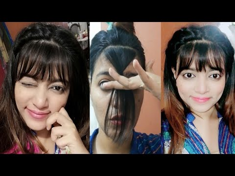 Hair cutting - How to cut front Bangs