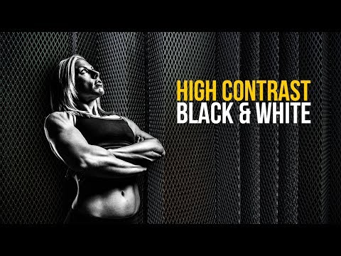 Create High Contrast Black and White Images Using Adobe Camera RAW and Photoshop