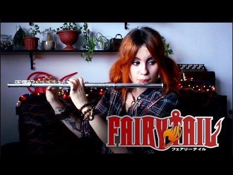 "Yasuharu Takanashi  ""Fairy Tail - Main Theme"" Cover by Alina Gingertail"
