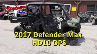 9. 2017 Defender Max HD10 DPS