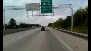 Newnan (GA) United States  city pictures gallery : I-85 S @ Newnan, GA