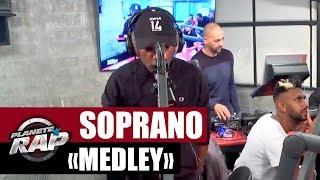 """Soprano - Medley """"Halla Halla, Marc Landers & Cosmo"""" #PlanèteRap"""