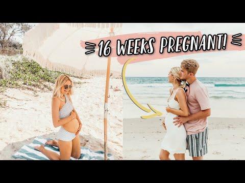 16 WEEKS PREGNANT IN BYRON BAY, AUSTRALIA!