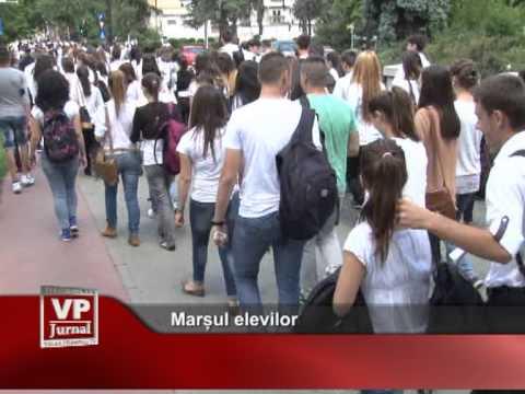 Marșul elevilor