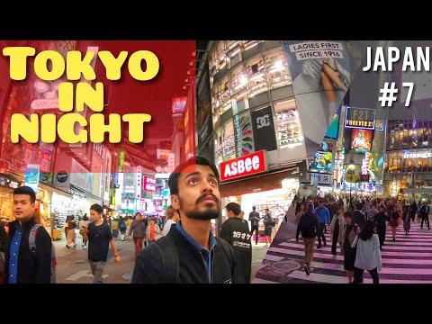 Download Tokyo in Night | Indian Food in Japan | Shimbuya Crossing | Shinjuku HD Mp4 3GP Video and MP3