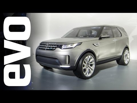 Land Rover Discovery Vision Concept at New York Auto Show | evo MOTOR SHOW