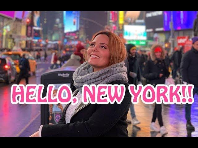 CHEGAMOS EM NY!!!!! Claudinha Stoco - Claudinha Stocco