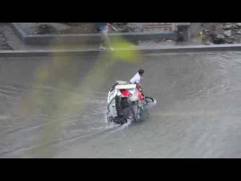 0 Flooding Videos from Makati, Manila   Sept. 26, 2009   Tropical storm, Ondoy