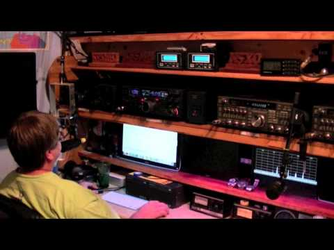 VHF - This video was made during the June 2013 ARRL VHF contest. It is not a tutorial on how to contest or anything. It is just a quick video to show someone who m...
