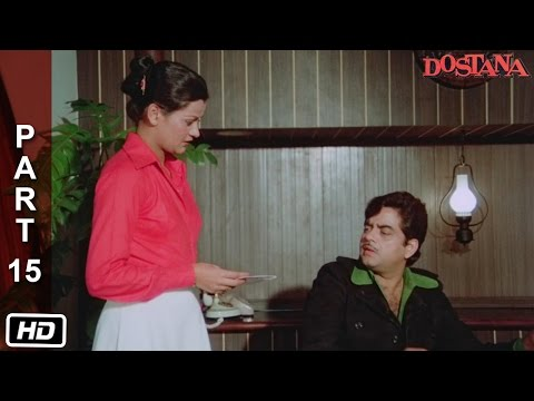 Daaga kidnaps Ravi and Sheetal | Dostana (1980) | Amitabh Bachchan, Shatrughan Sinha, Zeenat Aman