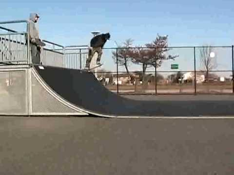 Mike and Ed skate Nickerson