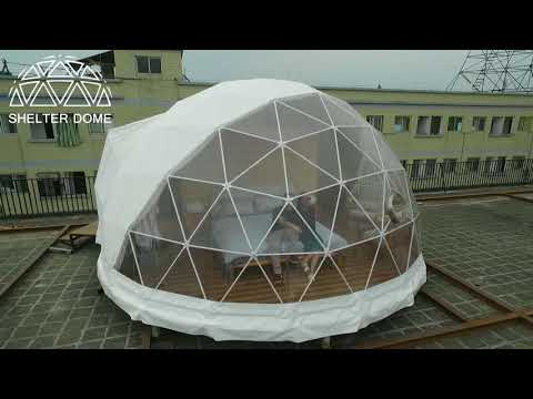 6m Diameter Well-equipped Glamping Dome Hotel - Igloo Style Lodge Tent