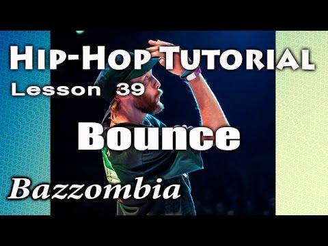 Хип Хоп: элемент  bounce. Обучающее видео онлайн.