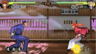 Nonton  Psp  Rurouni Kenshin  Meiji Kenkaku Romantan Saisen   Kenshin S Story Mode Part 1 Film Subtitle Indonesia Streaming Movie Download