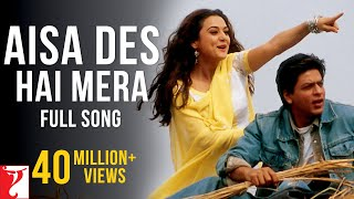 Video Aisa Des Hai Mera - Full Song - Veer-Zaara MP3, 3GP, MP4, WEBM, AVI, FLV Agustus 2018