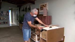 Artesão transforma hobby em profissão durante a pandemia