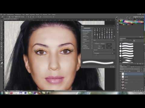 , title : 'Коррекция лица в photoshop. Нанесение макияжа photoshop'