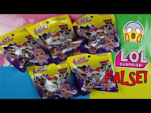 APRO LOL SURPRISE FALSE COMPRATE IN EDICOLA! (LOL CONFETTI POP FALSE) Iolanda Sweets (видео)