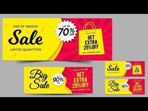 How To Make Discount Banner In Corel Draw X7 #9 Tutorial