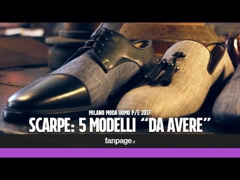 Milano Moda Uomo, le scarpe per la P/E 2017: 5 modelli
