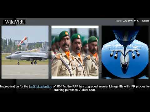 The PAC JF-17 Thunder , or CAC...