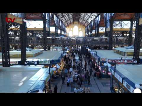 TV Gastro&Hotel: Navštívili jsme Velkou tržnici v Budapešti