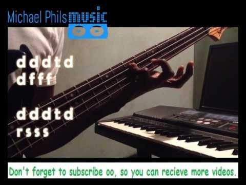 Makossa/ Soukous Bass Line Pattern For Gospel Praise 101