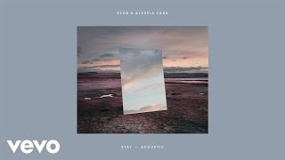 """Zedd & Alessia Cara - Stay (Acoustic Version)Listen to the acoustic version of """"Stay""""!Subscribe to Zedd's channel to stay up to date on all the latest videos. Get """"Stay (Acoustic Version)""""  here:Spotify: http://zedd.me/StayAcousticSPiTunes: http://zedd.me/StayAcousticITApple Music: http://zedd.me/StayAcousticAMAmazon: http://zedd.me/StayAcousticAZGoogle Play: http://zedd.me/StayAcousticGP Follow Zedd:Website: https://www.zedd.netFacebook: http://zedd.me/Facebook Instagram: http://zedd.me/Instagram Spotify: http://zedd.me/SPEssentials Twitter: http://zedd.me/Twitter Snapchat: http://zedd.me/Snapchat Subscribe to his YouTube channel: http://zedd.me/YTSubscribe  Follow Alessia Cara:Website: http://www.alessiacara.com/Facebook: https://www.facebook.com/alessiacaraInstagram: https://www.instagram.com/alessiasmusic/Spotify: https://open.spotify.com/artist/2wUjU... Twitter: https://twitter.com/alessiacara YouTube: https://www.youtube.com/user/AlessiaC...  See Zedd live: http://zedd.me/Live  LYRICSWaiting for the time to pass you byHope the winds of change will change your mindI could give a thousand reasons whyAnd I know you and you've got to Make it on your own but, we don't have to grow up, we can stay forever youngLiving on my sofa, drinking rum and cola, underneath the rising sunI could give a thousand reasons whyBut you're going and you know that All you have to do is stayA minuteJust takeYour timeThe clockIs tickingSo stayAll you have to do is waitA secondYour hands, on mineThe clock is tickingSo stay Won't admit what I already knowI've never been the best at letting goI don't wanna spend the night aloneYes I need youAnd I need to Make it on my own but, I don't wanna grow up, we can stay forever youngLiving on my sofa, drinking rum and cola, underneath the rising sunI could give a million reasons whyBut you're going and you know that All you have to do is stayA minuteJust takeYour timeThe clockIs tickingSo stayAll you have to do is waitA secondYour hands, on mineThe """