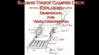 9. Slide Out Truck Camper Deck Explained