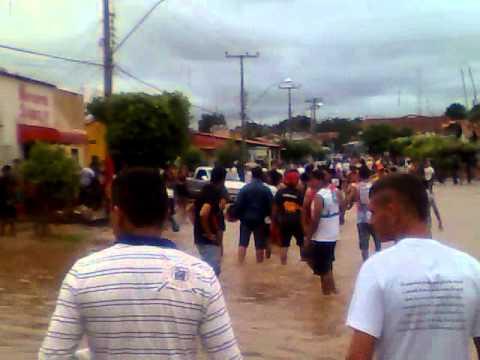 Enchente em Senador La Rocque