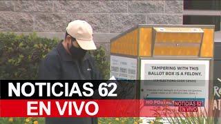 Ambiente en Los Ángeles hoy día de elecciones – Noticias 62 - Thumbnail