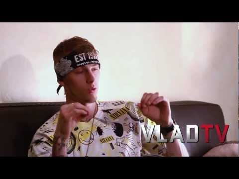 "Machine Gun Kelly Details His New Album ""Lace Up"""