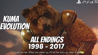Video TEKKEN SERIES - All Kuma Character Ending Movies 1998 - 2017 (1080p 60fps) MP3, 3GP, MP4, WEBM, AVI, FLV September 2019