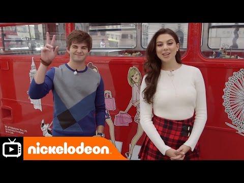 Jack and Kira in London Part 1 | Nickelodeon UK