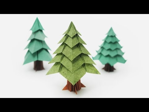 origami – albero di natale