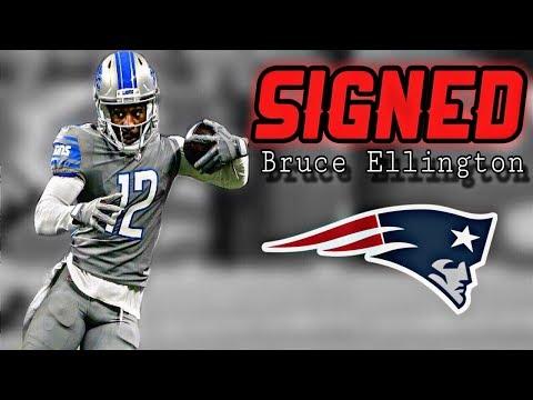 Patriots Sign WR Bruce Ellington