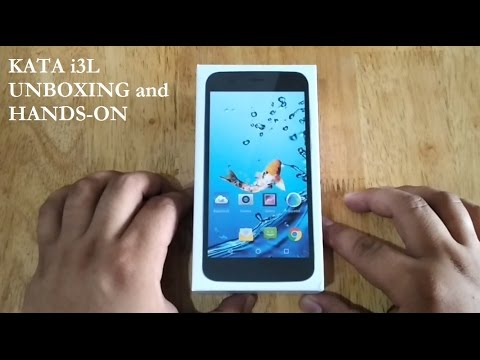 Kata i3L Unboxing and Hands-on