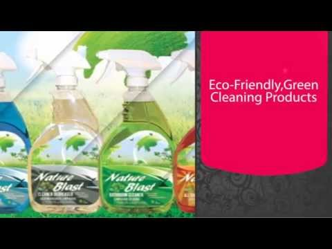 Nature Blast Eco Friendly Green Cleaning Products Advertisement
