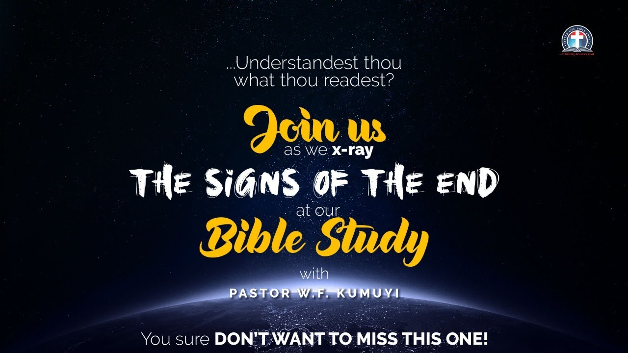 Deeper Christian Life Ministry Bible Study 18th May 2020
