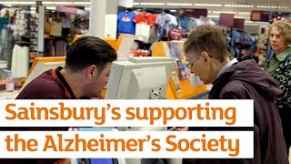 Supporting the Alzheimer's Society's Campaign for Retailers to be 'Dementia Friendly'