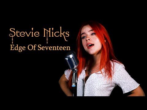 "Stevie Nicks  ""Edge of Seventeen"" Cover by Andreea Munteanu"