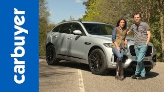 New Jaguar F-Pace 2016 review - Carbuyer by Carbuyer
