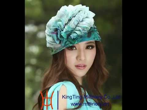 Ladies Elegant Beautiful New Style Bonnet Organza Hat for Church