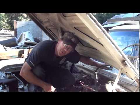 Part 2/8 85 Dodge W 350 4x4 Front Clip Removal
