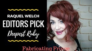 Video I went RED! Raquel Welch - Editors Pick - Deepest Ruby RL33/35  - Wig Review MP3, 3GP, MP4, WEBM, AVI, FLV Agustus 2018
