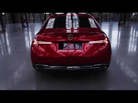 Video k novému sedanu třídy A, koncept 2017
