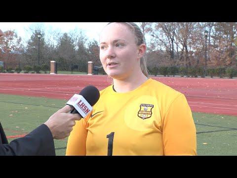 Tess Frelick Post Game vs Roanoke (ODAC Final)