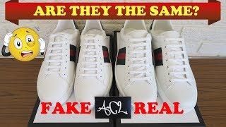 Video How To Spot Fake Gucci Ace Sneakers | Authentic vs Replica Gucci Ace Legit Check Review MP3, 3GP, MP4, WEBM, AVI, FLV Mei 2018